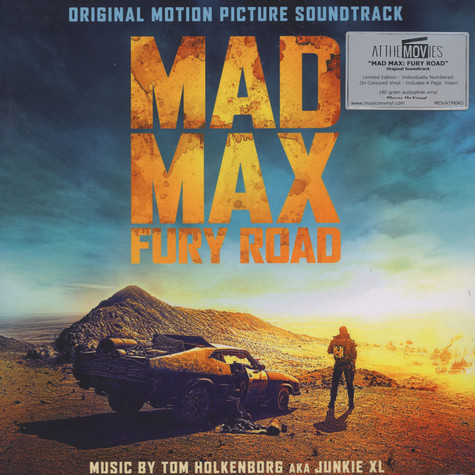 Tom Holkenborg aka Junkie XL - OST Mad Max: Fury Road Colored Vinyl Edition