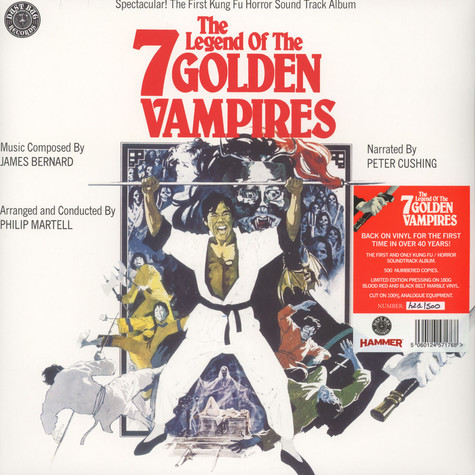 James Bernard & Peter Crushing - OST The Legend Of The 7 Golden Vampires