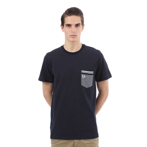 Fred Perry - Oxford Pocket V Dot T-Shirt