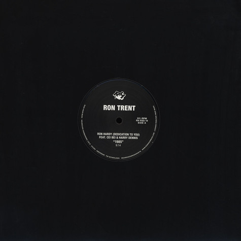 Ron Trent - Tribute To Ron Hardy