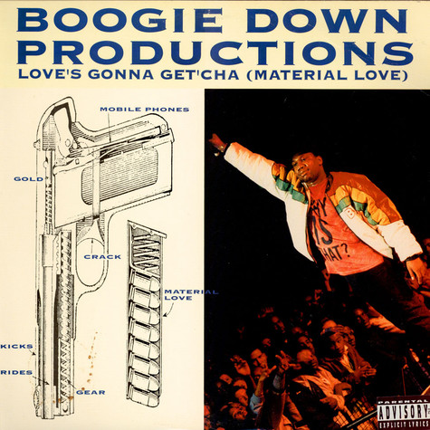 Boogie Down Productions - Love's Gonna Get'cha (Material Love)
