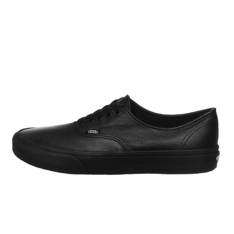 fa647e2d5e8 Vans - Authentic Decon (Premium Leather) (Black   Black)