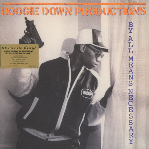 Boogie Down Productions - By All Means Necessary Transparent Vinyl Edition