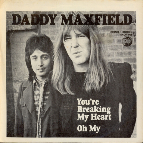 Daddy Maxfield - You're Breaking My Heart