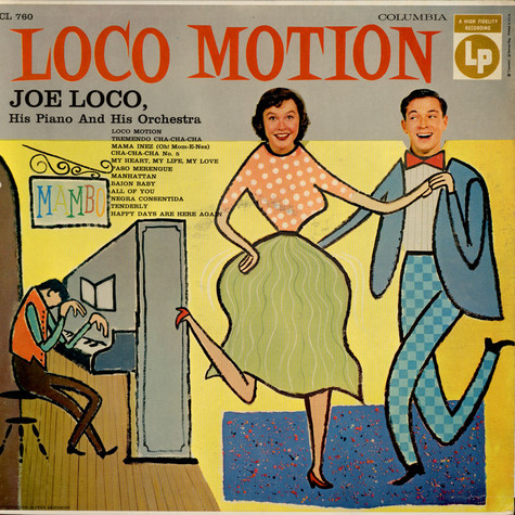 Joe Loco And His Orchestra - Loco Motion