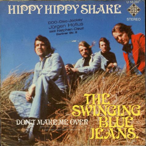 Swinging Blue Jeans, The - Hippy Hippy Shake