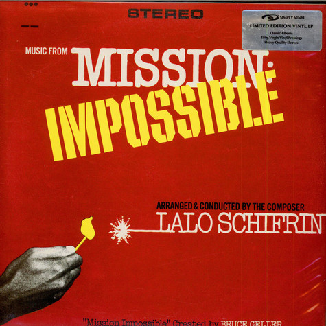 Lalo Schifrin - OST Music From Mission: Impossible