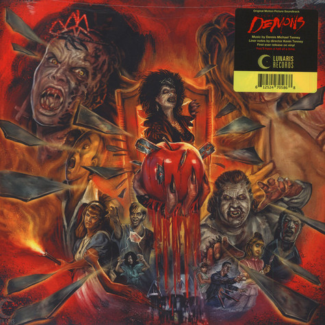 Dennis Michael Tenney - OST Night Of The Demons Red Vinyl Edition