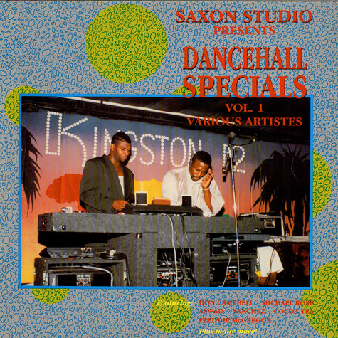 V.A. - Saxon Studio Presents Dancehall Specials Vol.1 Various Artistes