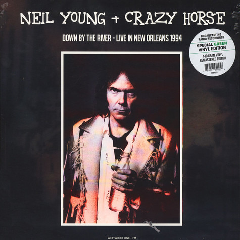 Neil Young & Crazy Horse - Down By The River: Live In New Orleans 1994 Green Vinyl Edition
