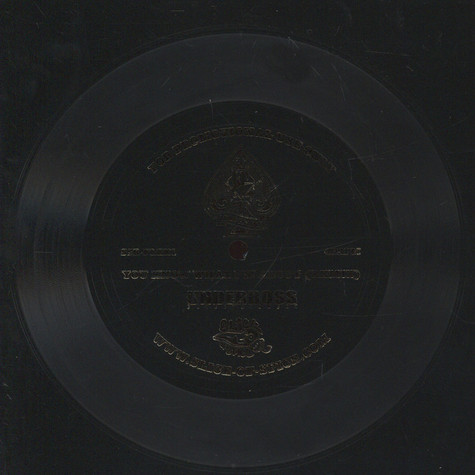 Lord Finesse - You Know What I'm About Remix Flexi Disc - Silver