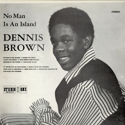 Dennis Brown - No Man Is An Island