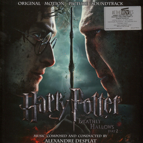 Alexandre Desplat - OST Harry Potter & The Deathly Hallows Part 2 Colored Vinyl Edition
