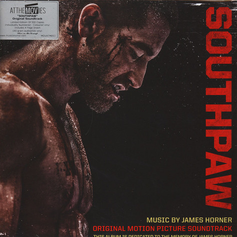 James Horner - OST Southpaw Black Vinyl Edition