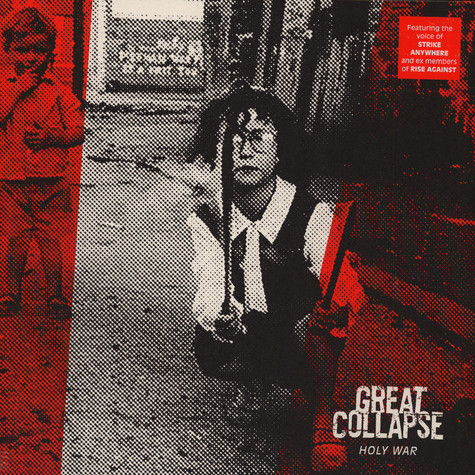 Great Collapse, The - Holy War Red Vinyl Edition