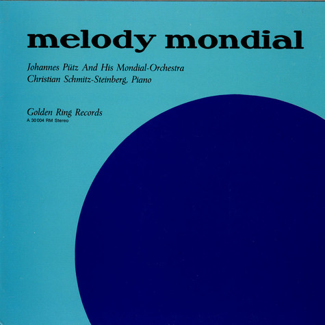 Johannes Pütz And His Mondial-Orchestra - Melody Mondial
