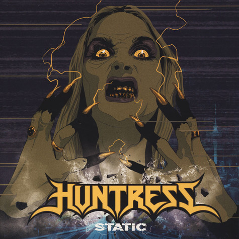 Huntress - Static Black
