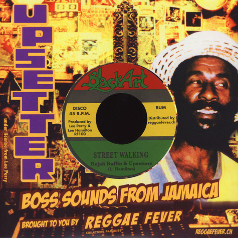 Rajah Ruffin & The Upsetters / Blood Relatives - Street Walking / Street Dancing
