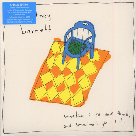 Courtney Barnett - Sometimes I Sit & Think & Sometimes I Just Sit Colored Vinyl Edition