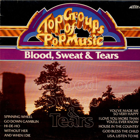 Blood, Sweat And Tears - Top Groups Of Pop Music