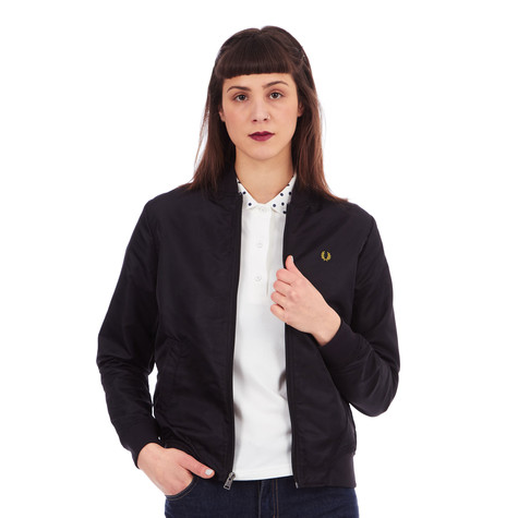 Fred Perry - Short Unlined Bomber Jacket