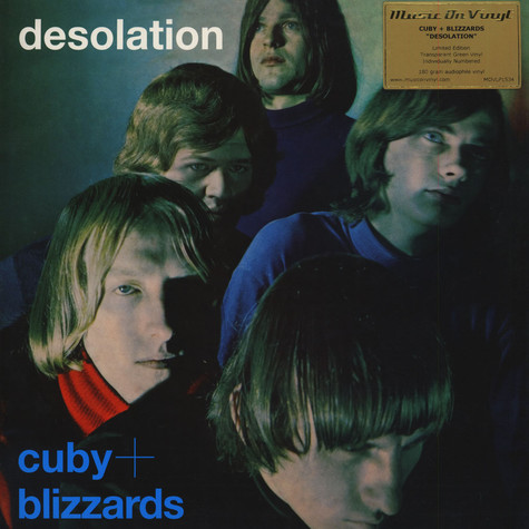 Cuby & Blizzards - Desolation Transparent Green Vinyl Edition