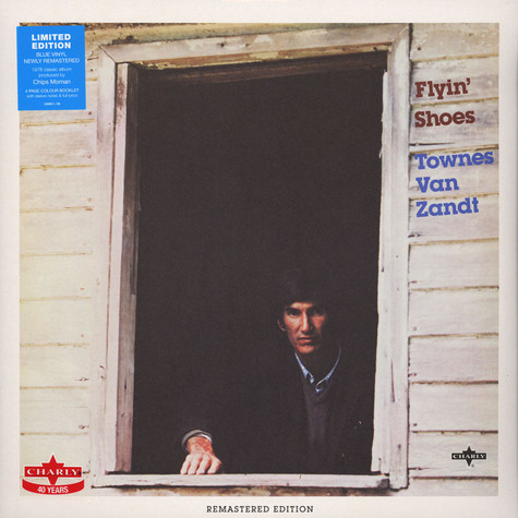 Townes Van Zandt - Flyin' Shoes Blue Vinyl Edition