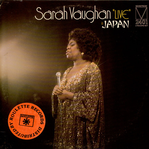 "Sarah Vaughan - ""Live"" In Japan"