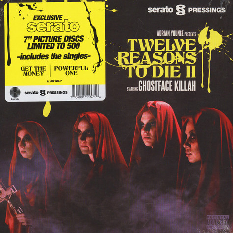 Ghostface Killah & Adrian Younge - Twelve Reasons To Die Volume 2 Serato Picture Disc Double Pack