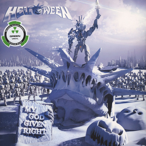 Helloween - My God Given Right Green Vinyl Edition