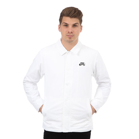 f5ad1e4c98 Nike SB - Coaches Jacket (White   Black)