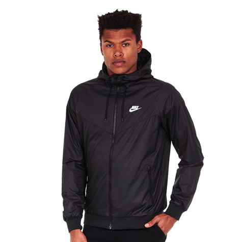 949577823e363d Nike - Windrunner Jacket (Black   Black   Black   White)