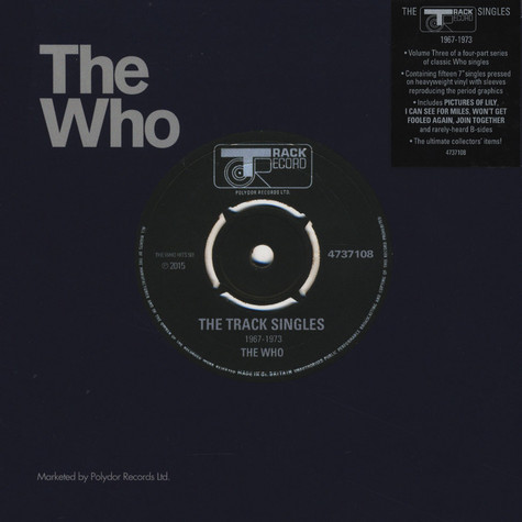 Who, The - Volume 3: The Track Records Singles 1967-1973