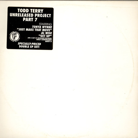 Todd Terry - Unreleased Project Part 7