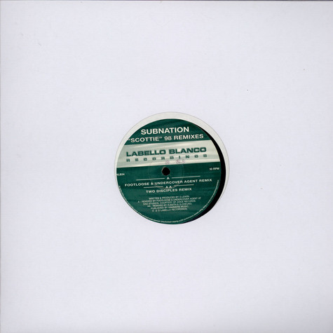 Subnation - Scottie (98 Remixes)