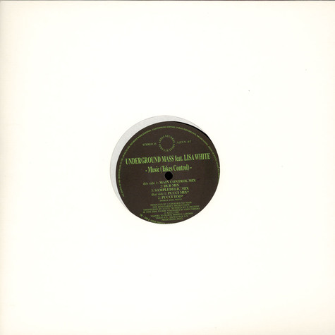 Underground Mass Featuring Lisa White - Music (Takes Control)