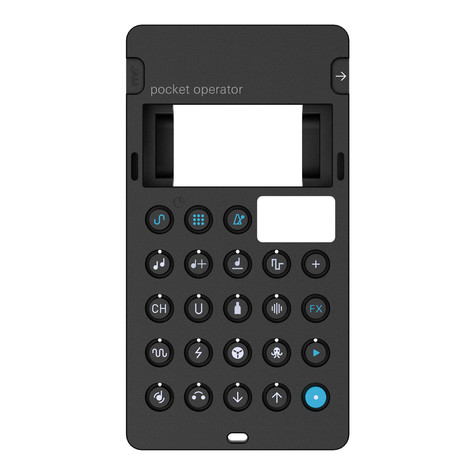 Teenage Engineering x Cheap Monday - CA-14 Pro Case for PO-14