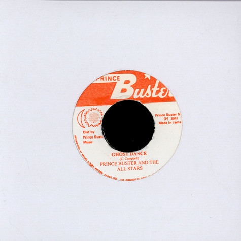 Prince Buster And The All Stars - Madness / Ghost Dance
