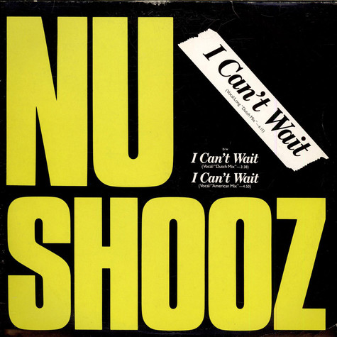 "Nu Shooz - I Can't Wait (Vocal/Long ""Dutch Mix"")"
