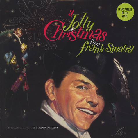 Frank Sinatra - A Jolly Christmas Green Vinyl Edition
