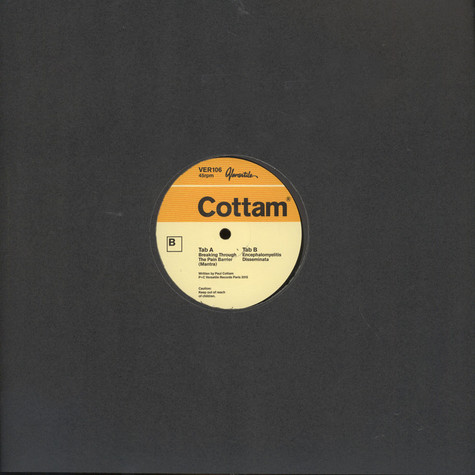 Cottam - Breaking Through The Pain Barrier EP