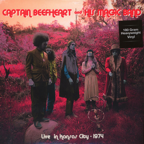 Captain Beefheart & The Magic Band - Live At The Cawtown Ballroom In Kansas City, April 22 1974 180g Vinyl Edition