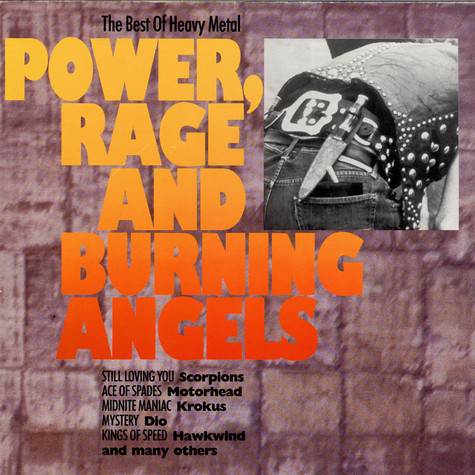 V.A. - Power, Rage And Burning Angels - The Best Of Heavy Metal