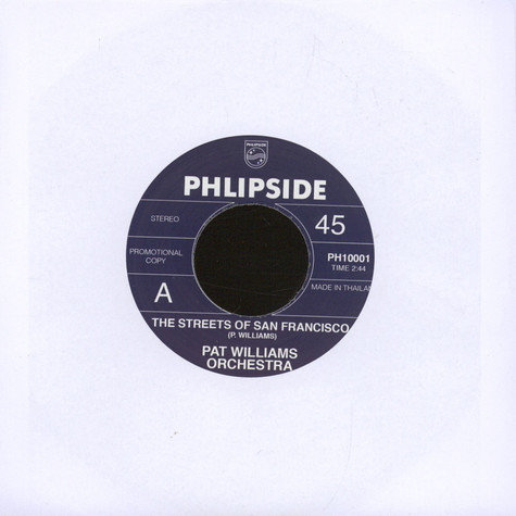 Pat Williams Orchestra - The Streets Of San Francisco