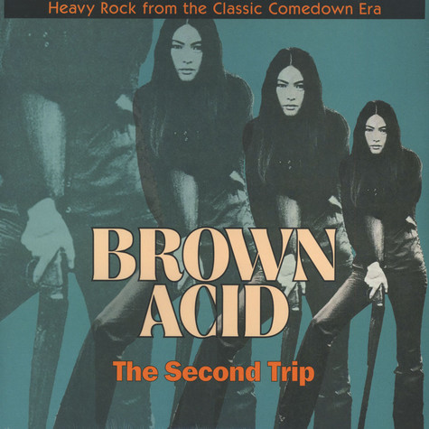 """V.A. - Brown Acid """"The Second Trip"""" Colored Vinyl Edition"""