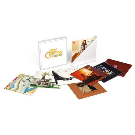 Eric Clapton - The Studio Album Collection