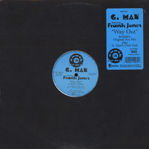 G. Man Featuring Frank Jones - Way Out