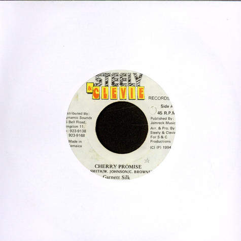 Garnett Silk / Steely & Clevie - Cherry Promise