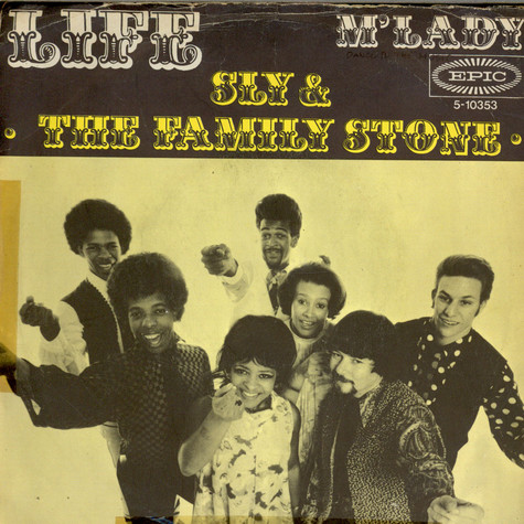 Sly & The Family Stone - Life / M'Lady