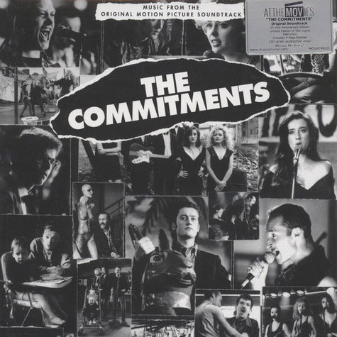 V.A. - OST Commitments Transparent Red Vinyl Edition